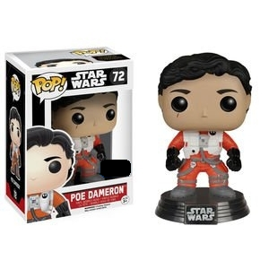 Star Wars Pop! Vinyl Figure Poe Dameron (No Helmet) - Fugitive Toys