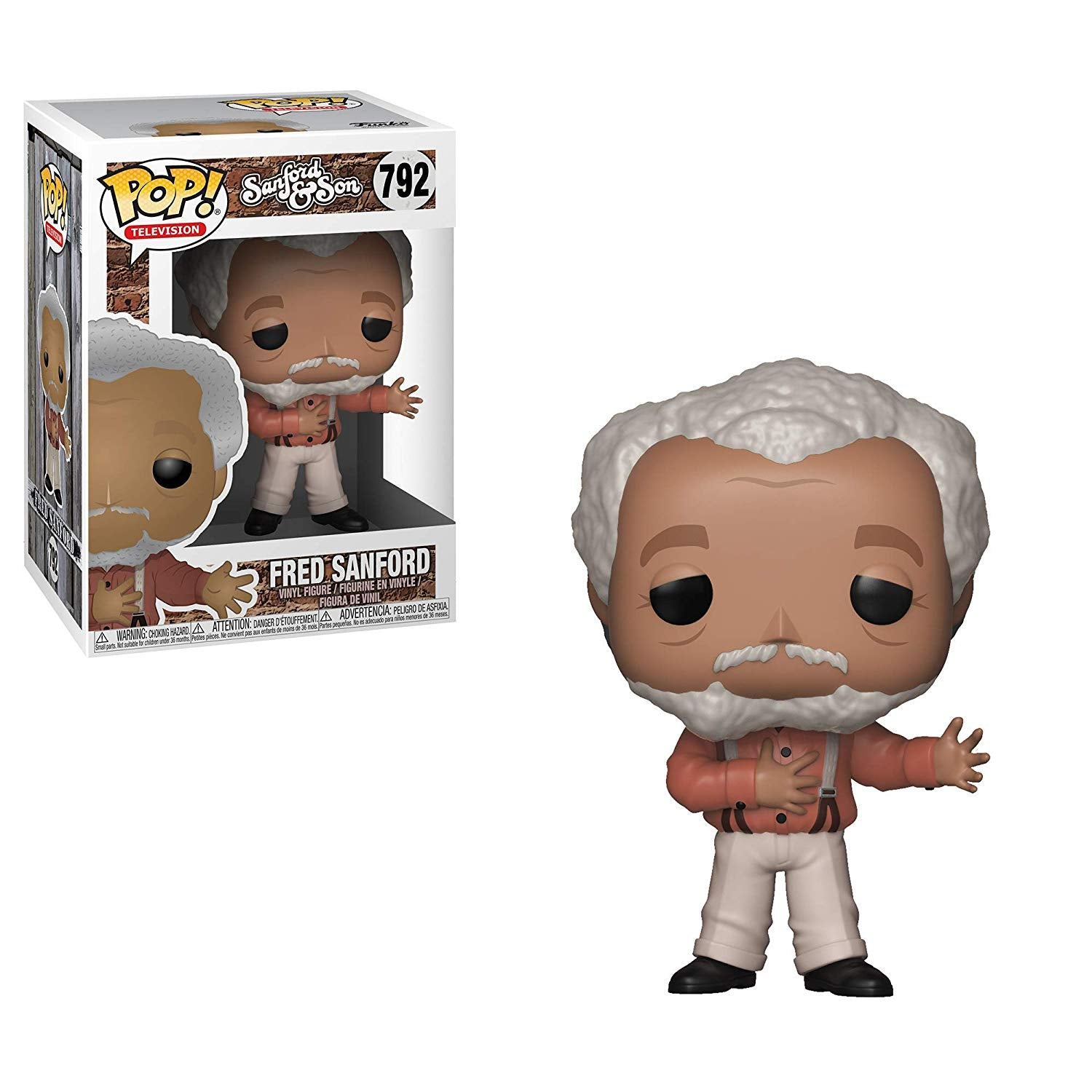 Sanford and Son Pop! Vinyl Figure Fred Sanford [792]
