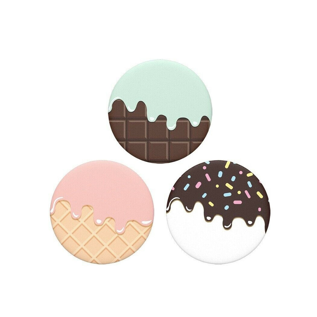 PopSockets Pop Minis Trios: Drippy Ice Creams