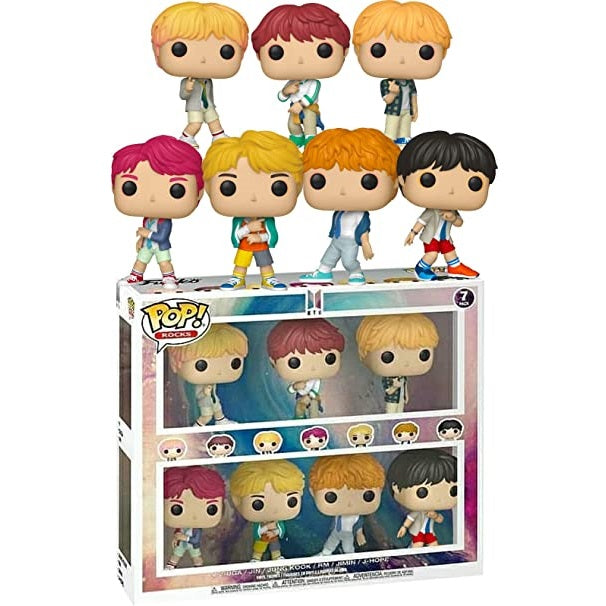 Rocks Pop! Vinyl Figure BTS 7 Pack Exclusive