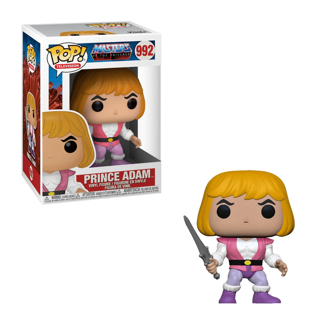 Masters of the Universe Pop! Vinyl Figure Prince Adam [992]