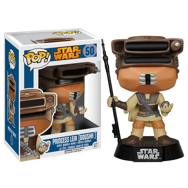 Star Wars Pop Vinyl Bobblehead Princess Leia Boushh