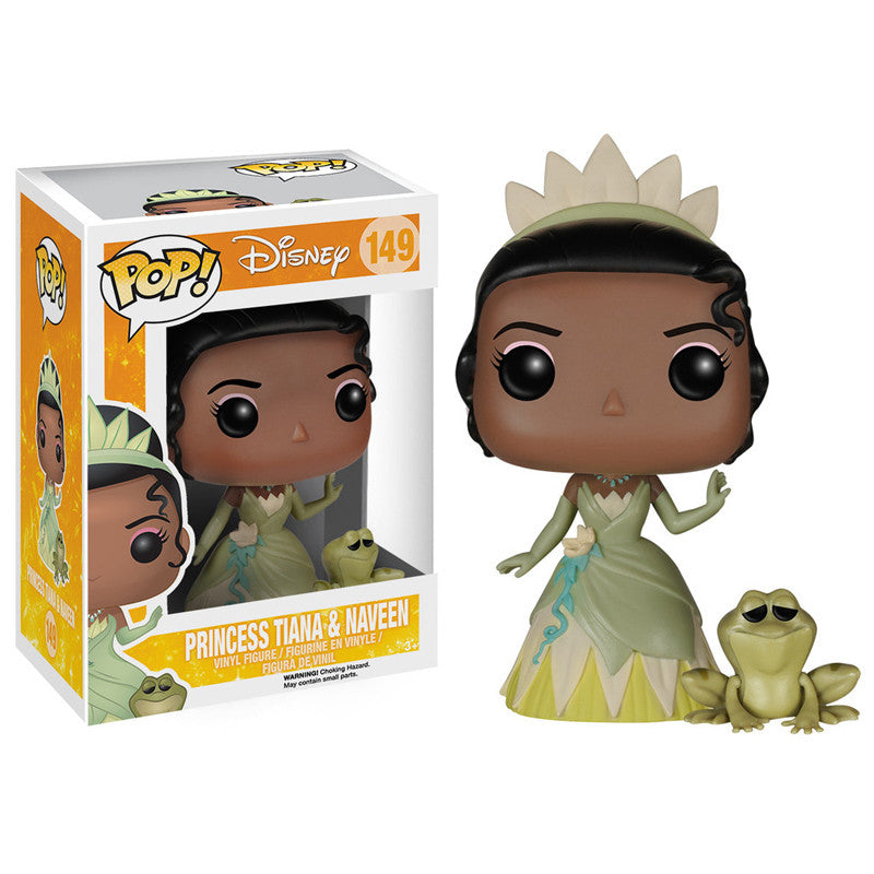 Disney Pop! Vinyl Figure Princess Tiana & Naveen [The Princess & The Frog]
