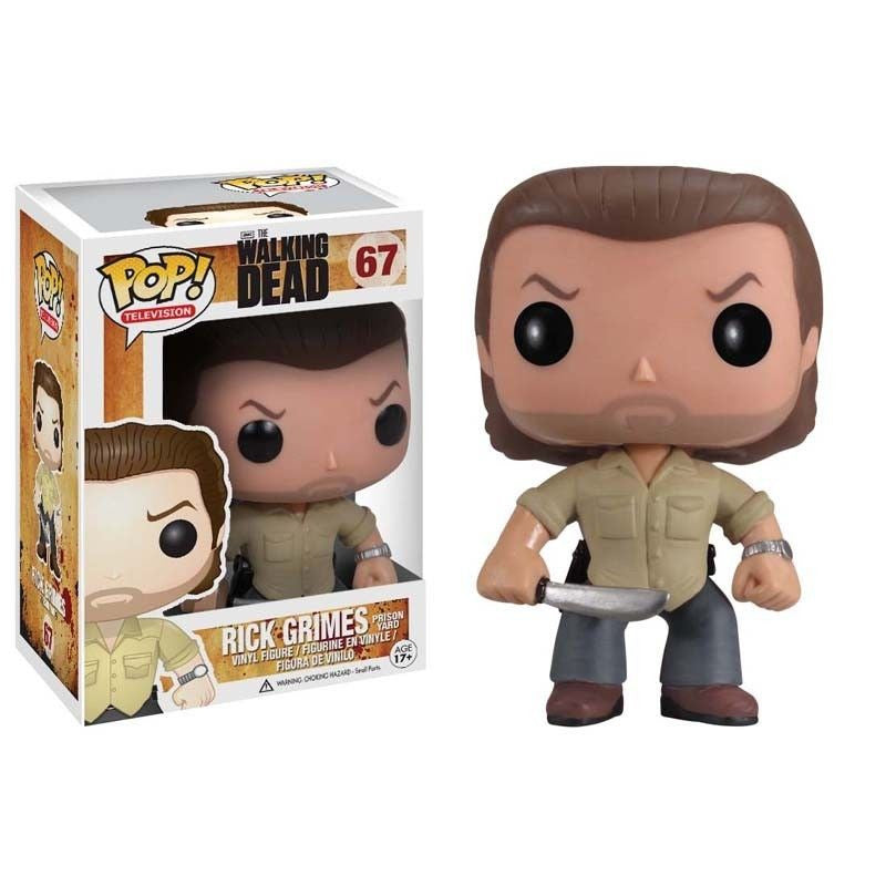 The Walking Dead Pop! Vinyl Figure Prison Yard Rick Grimes