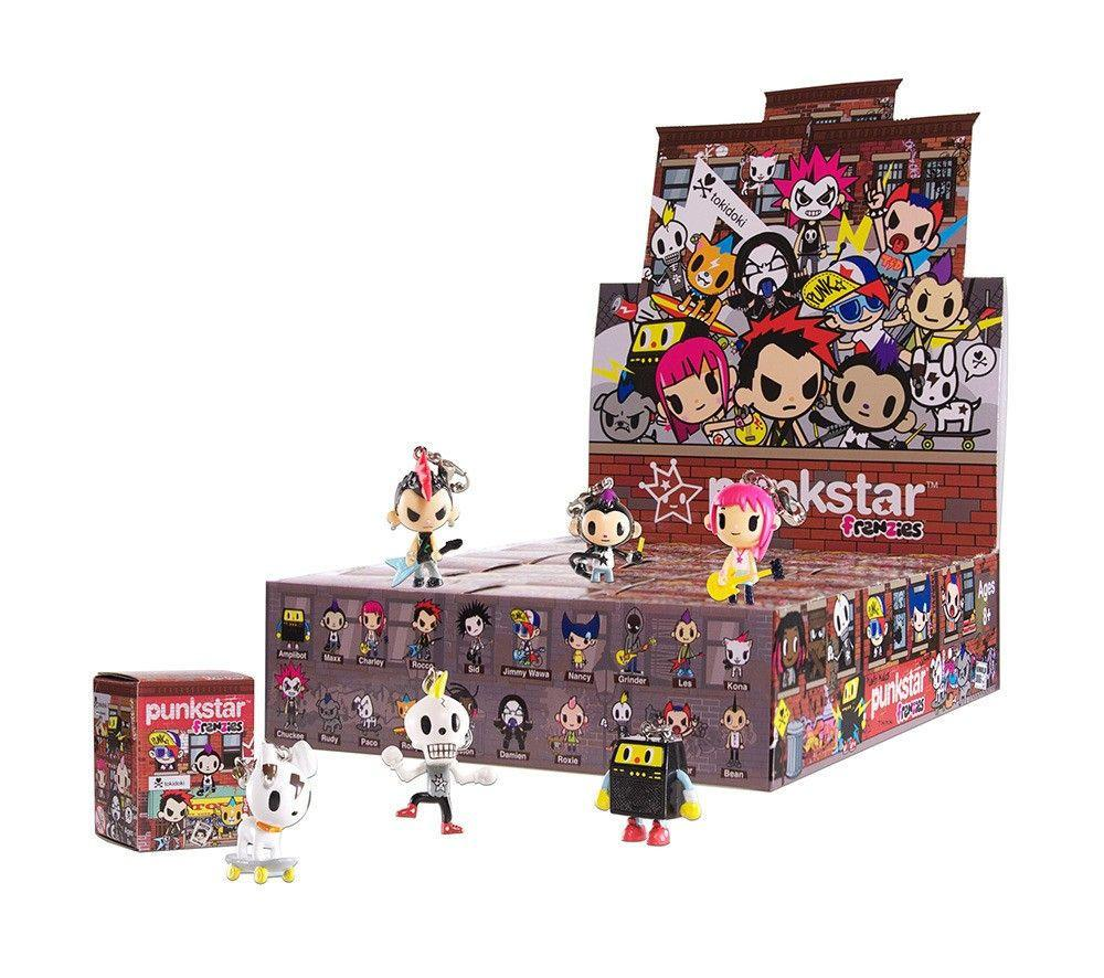 Tokidoki Punkstar Frenzies: (Case of 30)