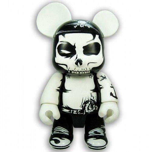 "8"" Qee Zombie Pirate Bear - Fugitive Toys"