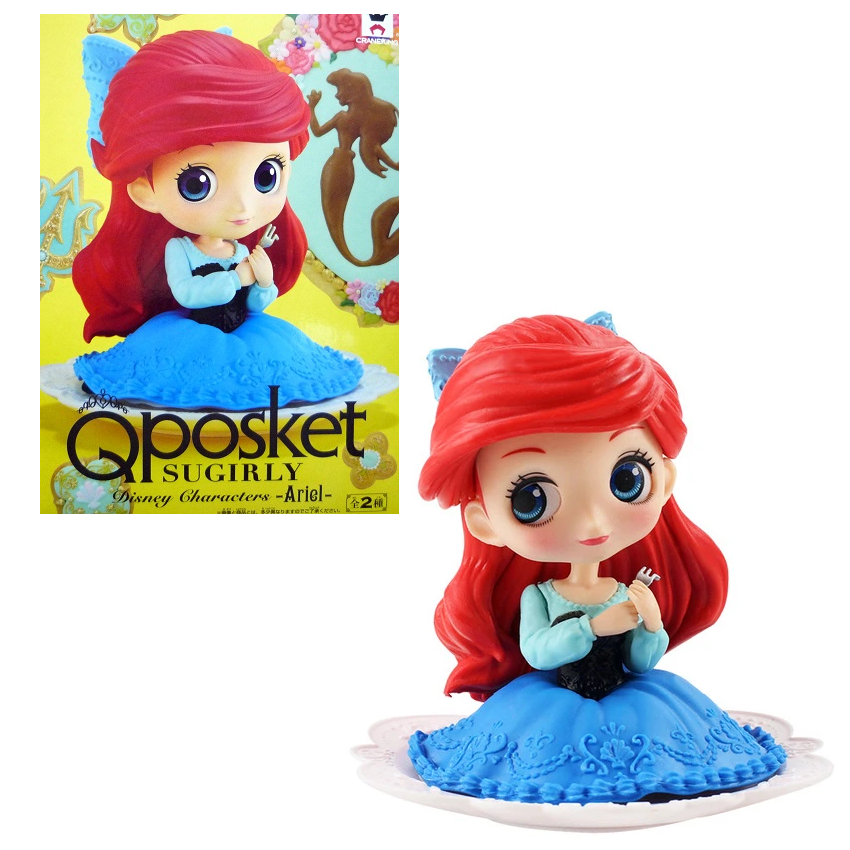 Disney Q Posket Sugirly Ariel (Blue Dress) - Fugitive Toys