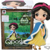 Disney Q Posket Petit Winter Costume Snow White - Fugitive Toys