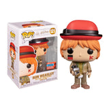 Harry Potter Pop! Vinyl Figure Ron Weasley Quidditch World Cup (2020 NYCC) [121] - Fugitive Toys
