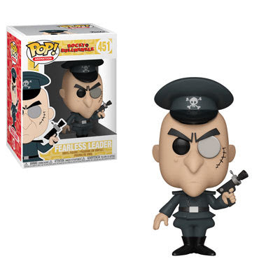 Rocky & Bullwinkle Pop! Vinyl Figure Fearless Leader [451]