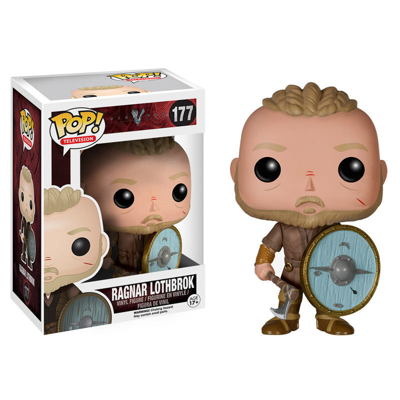 Vikings Pop! Vinyl Figure Ragnar Lothbrok - Fugitive Toys