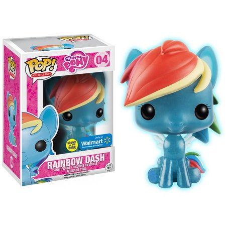 My Little Pony Pop! Vinyl Figures Glow in the Dark Rainbow Dash [4]