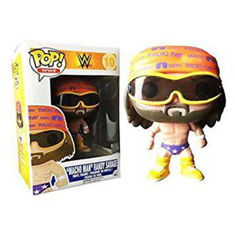WWE Pop! Vinyl Figure Macho Man Randy Savage (Purple Trunks) [10]