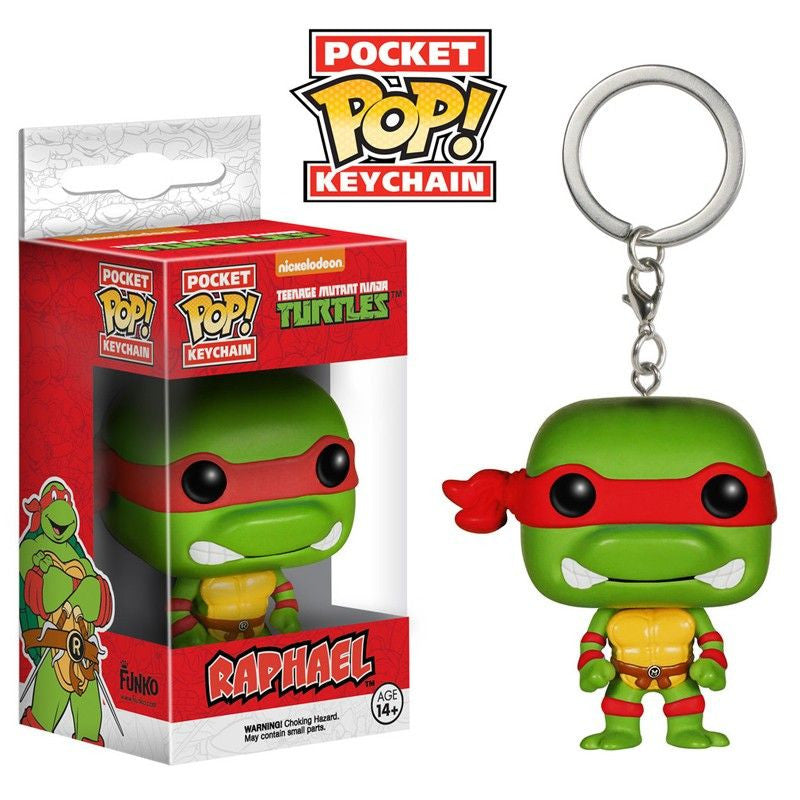 Teenage Mutant Ninja Turtles Pocket Pop! Keychain Raphael