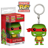 Teenage Mutant Ninja Turtles Pocket Pop! Keychain Raphael - Fugitive Toys