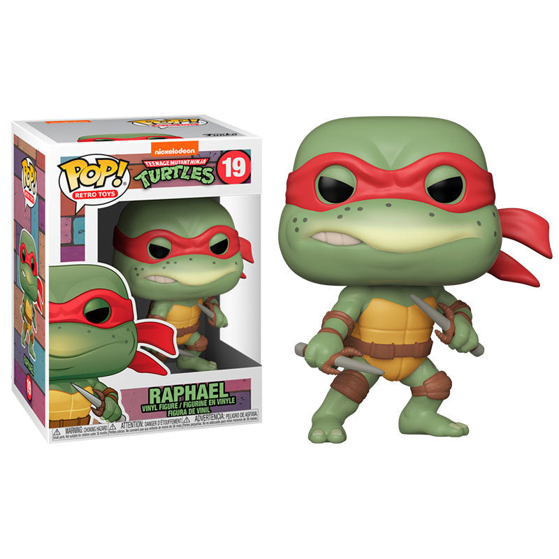 Teenage Mutant Ninja Turtles Pop! Vinyl Figure Raphael [19] - Fugitive Toys