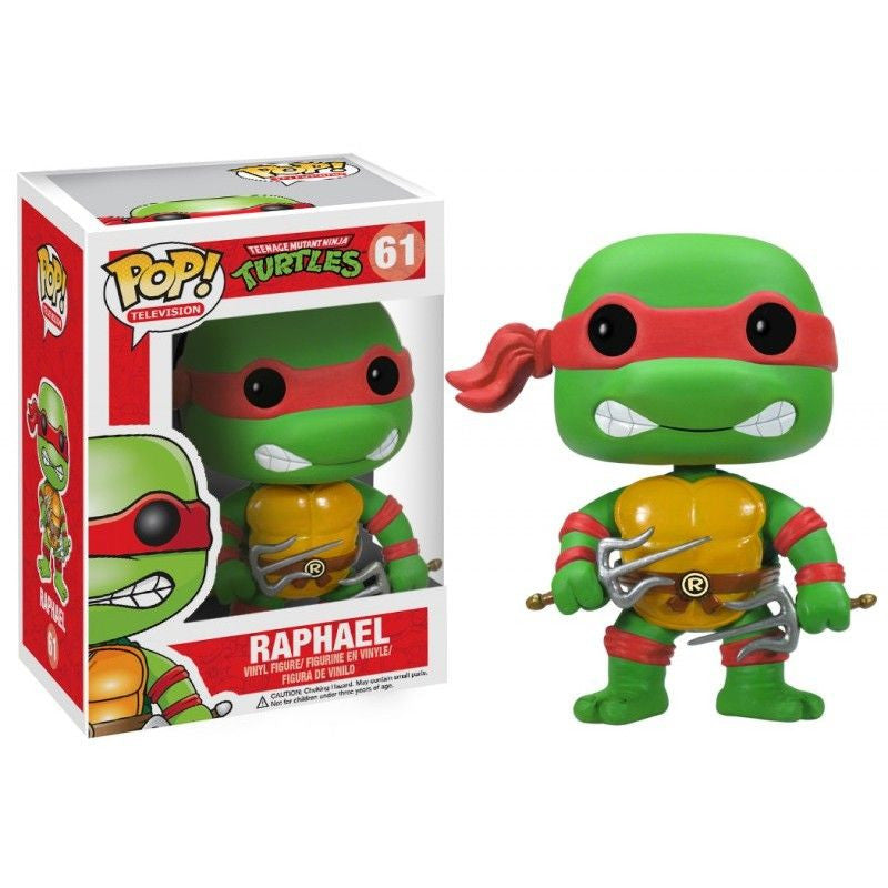 Teenage Mutant Ninja Turtles Pop! Vinyl Figure Raphael [61]