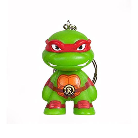 Kidrobot x Teenage Mutant Ninja Turtles Keychain Series - Raphael - Fugitive Toys