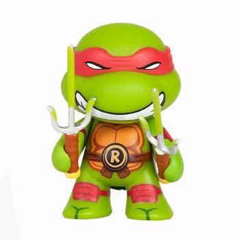 Kidrobot Teenage Mutant Ninja Turtles Ooze Action Raphael GITD - Fugitive Toys