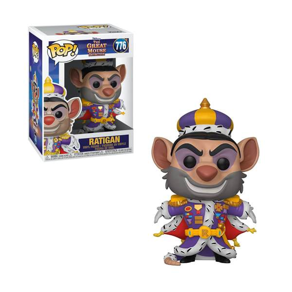 Disney Pop! Vinyl Great Mouse Detective Ratigan [776]
