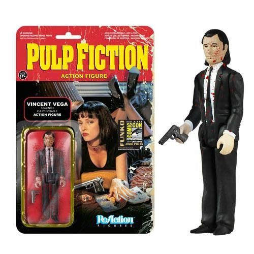 Pulp Fiction ReAction Figure: Blood Splattered Vincent Vega [SDCC 2014 Exclusive]