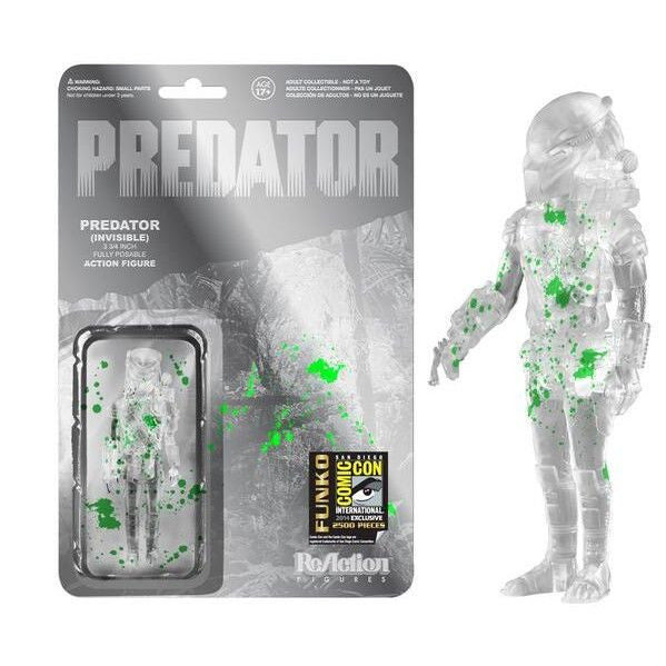 Predator ReAction Figure: Splattered Invisible Predator [SDCC 2014 Exclusive]