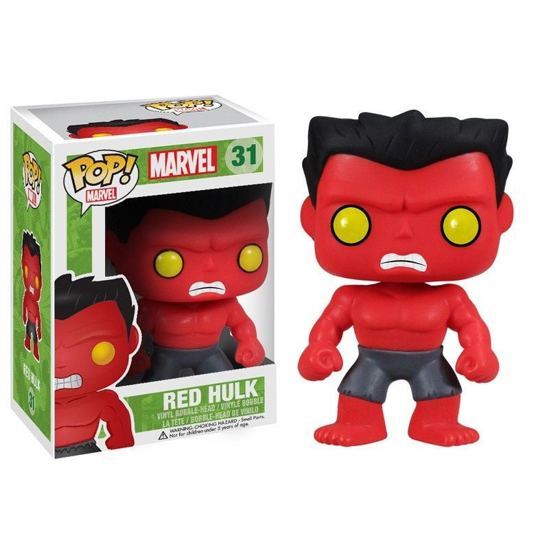 Marvel Pop! Vinyl Bobblehead Red Hulk [31] - Fugitive Toys