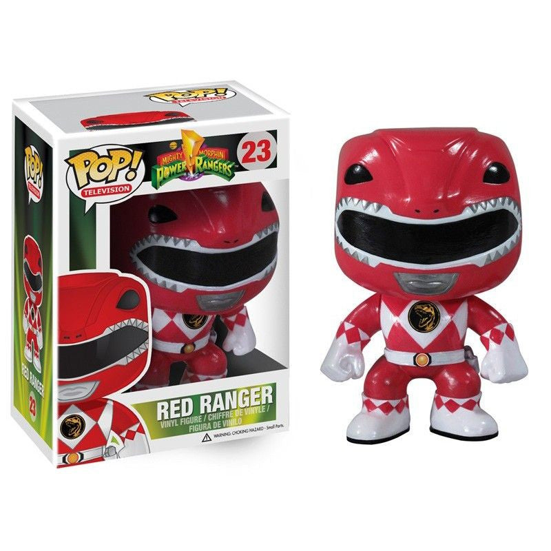 Mighty Morphin Power Rangers Pop! Vinyl Figure Red Ranger [23]