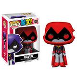 Teen Titans Go! Pop! Vinyl Figure Raven (Red) - Fugitive Toys