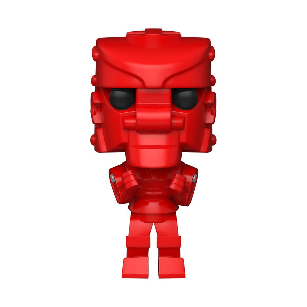 Mattel Rock Em Sock Em Robots Pop! Vinyl Figure Red Rocker [15]