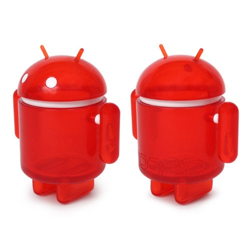 Android Mini Collectible Big Box Edition Vinyl Figure [Translucent Ruby] - Fugitive Toys
