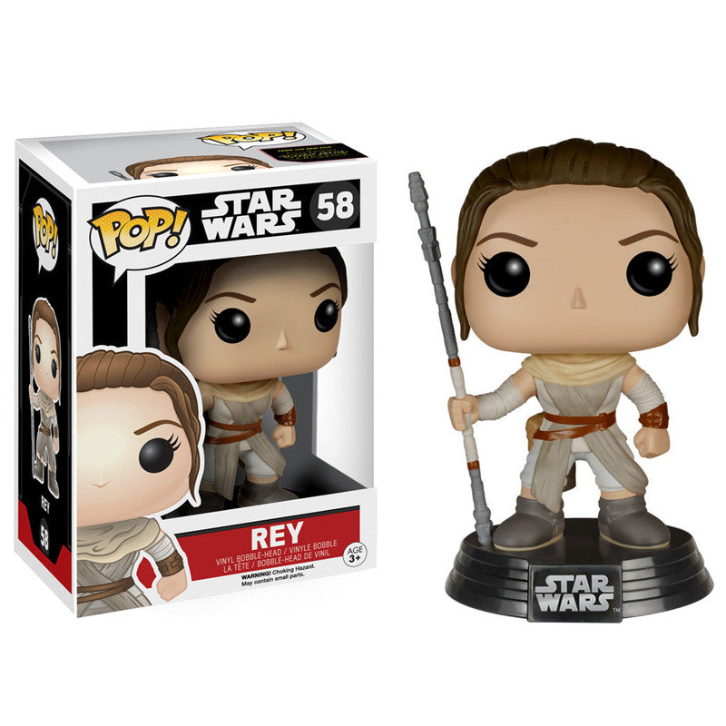 Star Wars Pop! Vinyl Bobblehead Rey [Episode VII: The Force Awakens]
