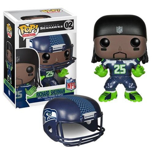 NFL Pop! Vinyl Figure Richard Sherman [Seattle Seahawks]