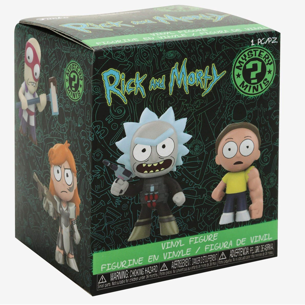 Rick and Morty Series 2 Mystery Minis: (1 Blind Box)