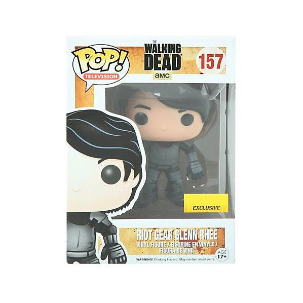 The Walking Dead Pop! Vinyl Figure Riot Gear Glenn Rhee [Exclusive] - Fugitive Toys