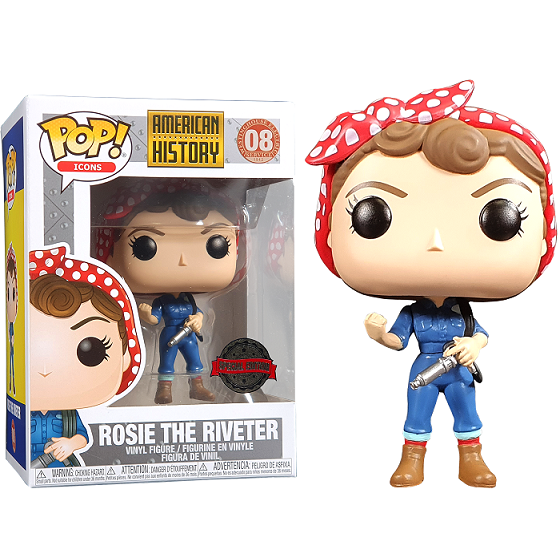 American History Pop! Vinyl Figure The Riveter [08]
