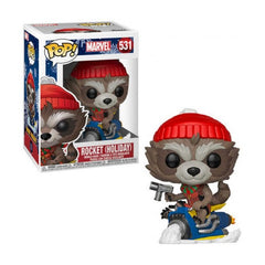 Marvel Pop! Vinyl Figure Holiday Rocket [531] - Fugitive Toys