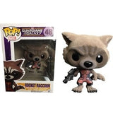 Marvel Guardians of the Galaxy Pop! Vinyl Bobblehead Flocked Ravagers Rocket Raccoon [Previews Exclusive] [48] - Fugitive Toys