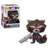 Marvel Pop! Vinyl Figure Rocket Raccoon (Classic) [396] - Fugitive Toys