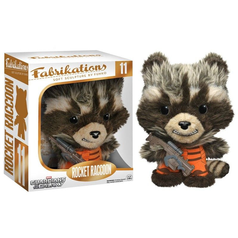 Fabrikations Soft Sculpture by Funko: Rocket Raccoon