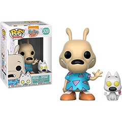 Rocko's Modern Life Pop! Vinyl Figure Rocko and Spunky [320] - Fugitive Toys
