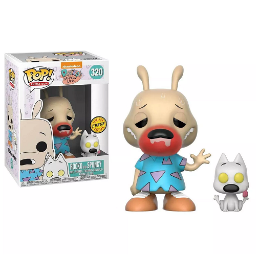 Rocko's Modern Life Pop! Vinyl Figure Rocko and Spunky (Chase) [320]
