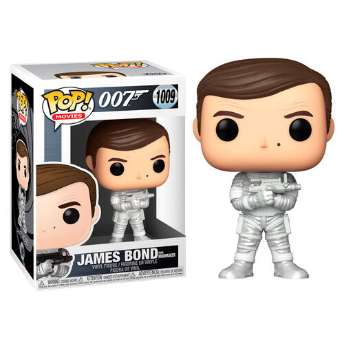 007 Pop! Vinyl Figure James Bond Roger Moore Moonraker [1009]