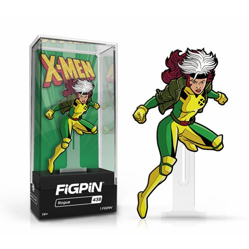 Marvel X-Men The Animated Series: FiGPiN Enamel Pin Rogue [438]
