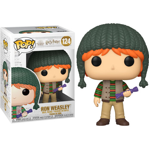 Harry Potter Pop! Vinyl Figure Holiday Ron Weasley [124]