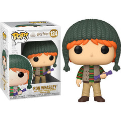 Harry Potter Pop! Vinyl Figure Holiday Ron Weasley [124] - Fugitive Toys