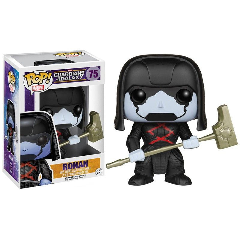 Marvel Guardians of the Galaxy Pop! Vinyl Bobblehead Ronan - Fugitive Toys