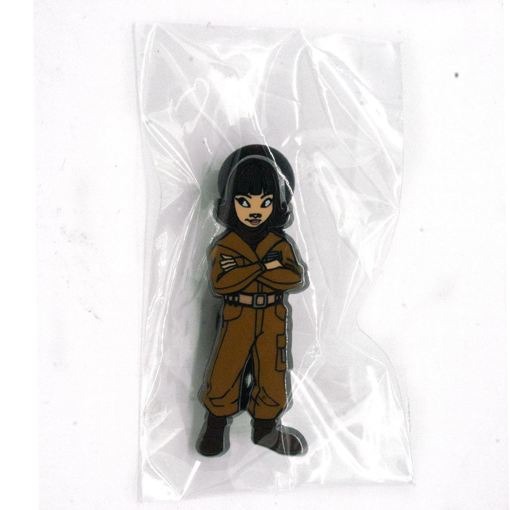 Star Wars Celebration Rose Tico Pin - Fugitive Toys