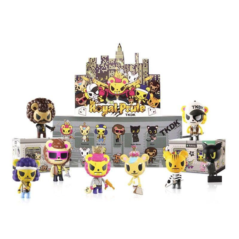 Tokidoki Royal Pride Vinyl Toy Collectibles (Case of 20)