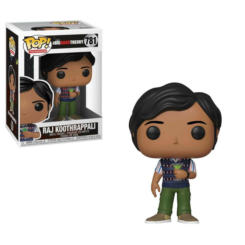 The Big Bang Theory S2 Pop! Vinyl Figure Raj [781]